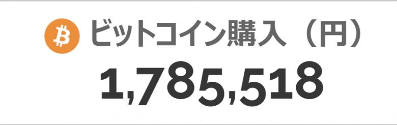 bitflyerのビットコイン価格